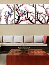 Toiles Tendues art paysage charactizing un ensemble de printemps amende de 3