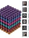 216 pcs 5mm Magnetleksaker Magnetiska kulor / Byggklossar / Puzzle Cube Magnet Magnet Present