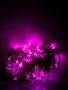 10m 100 leds halloween dekorativa lampor festlig remsa ljus-vanlig ljus sträng ljusrosa (220v)