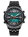 SKMEI Bărbați Ceas Militar Ceas La Modă Ceas de Mână Ceas digital Quartz Piloane de Menținut Carnea Quartz Japonez LCD Calendar Cronograf