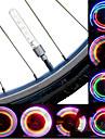 Cykellyktor hjul lampor Blinkande ventil LED Cykelsport batterier Lumen Batteri Cykling