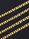 Bărbați Lănțișoare Articole de ceramică Placat Auriu Umplute cu Aur costum de bijuterii Bijuterii Pentru Petrecere Cadouri de Crăciun