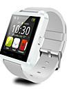 u8 smartwatch caméra message contrôle des médias / appels mains libres / anti-perdu pour android / ios smartphone