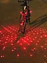 Cykellyktor Baklykta till cykel Framlykta till cykel bar end ljus Laser LED Cykelsport Analog Laser Varning multiverktyg LED ljus Lumen