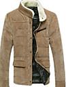 coreeană bumbac de moda de cauzalitate catifea de lână haina senleisi bărbați