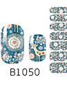 yemannvyou®14pcs mode dröm hjort stil nailart glitter dekal B1050