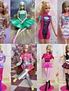 Prințesă Costume Pentru Barbie Doll Rochii Pentru Fata lui păpușă de jucărie