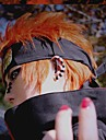 Naruto Cosplay Miesten 14 inch Heat Resistant Fiber Oranssi Anime Cosplay-Peruukit