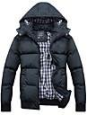 Bărbați Mărime Plus Size Jachetă Căptușit - Mată