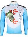 ILPALADINO Maillot de Cyclisme Homme Manches Longues Velo Maillot Hauts/Top Sechage rapide Resistant aux ultraviolets Respirable 100 %