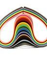 120pcs 3mmx53cm quilling hârtie (buc x5 24 culori / culoare) ambarcațiunile DIY decor de arta