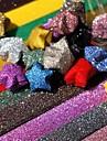 sclipici pulbere stele norocos materiale origami (20 de pagini / 1 culoare / pachet culoare aleatorii)