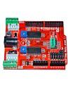 itead două canale de acționare pas cu pas bord de expansiune scut pentru Arduino - rosu