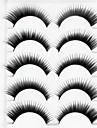 Silmäripsi Tekoripset 10 pcs Suurennettu Kihara Kuitu Päivittäin Paksu Luonnollisen pitkät - Meikki Arkipäivän meikki Juhlameikki kosmeettinen Hoitotarvikkeet