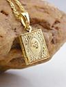 Placat cu aur 18k Allah musulmane pandantiv de carte