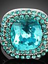 Inele Afirmatoare Cristal Zirconiu Cubic Aliaj La modă Culoare ecran Bijuterii Petrecere 1 buc