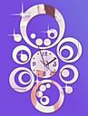 """20 """"h stil modern pe tot parcursul cercuri 3d DIY oglindă acrilic ceas de perete"""