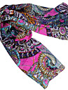 Women's Geometric Abstraction Autumn and Winter Long Scarf