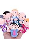 Leksaker Actionfigurer och mjukisdjur Fyllda Leksaker Fingerdocka Hand- och fingerdockor Söt Vackert Vackert Textil Plysh Flickor Pojkar