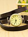 Pentru femei Quartz Ceas de Mână Ceas Casual Plastic Bandă Charm Negru