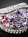 Dame Inele Afirmatoare La modă bijuterii de lux Zirconiu Cubic Diamante Artificiale Aliaj Bijuterii Pentru Petrecere