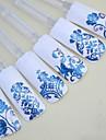 1 3D Nail Stickers Andra dekorationer Blomma Mode Dagligen Hög kvalitet