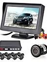 12v 4 senzori de parcare LCD afișajul aparatului foto video invers radar de backup de alarmă kit sistem buzzer