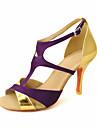satin t-curea curea femei personalizate în latină / pantofi de dans sală de bal