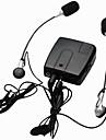 motocicletă wi10 interfon cu fir walkie talkie interfon pentru ciclistul șofer și locul din spate de sprijin mp3