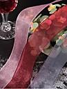 Μονόχρωμο Organza Κορδέλες γάμου Piece / Σετ Κορδέλα Οργάντζα Διακοσμήστε την συσκευασία δώρου Διακοσμήστε το γαμήλιο σκηνικό