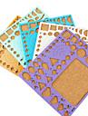 șablon pentru decorare make Quilling hârtie DIY ambarcațiunile de artă (culoare aleatorii, 21x18cm)