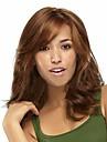 Femme Perruque Synthetique Mi Longue Brun claire Perruque de carnaval Perrruque de Deguisement Perruque Halloween Perruque Deguisement