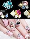 5 Bijoux a ongles Glitter & Poudre Classique Adorable Mariage Quotidien Classique Adorable Mariage Haute qualite