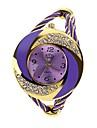 pentru Doamne Ceas La Modă Ceas Brățară Quartz Aliaj Bandă Sclipici Perle Brățară rigidă Albastru Roșu Violet