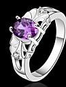 Dame Inele Afirmatoare Cristal costum de bijuterii Plastic Bijuterii Pentru Nuntă Petrecere Zilnic Casual