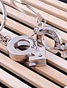 iubi pentru totdeauna cheie de nunta breloc inel de zi iubitul Îndrăgostiților (o pereche)