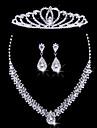 Mujer Otros Conjunto de joyas Pendientes / Collare / Tiaras - Regular Para Boda / Fiesta / Ocasion especial