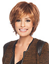 Human Hair Capless Wigs Human Hair Curly With Bangs Side Part Short Capless Wig Women\'s