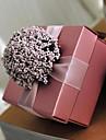 Cubic Hârtie cărți de masă Favor Holder Cu Flori Cutii de Savoare Cutii de Cadouri
