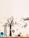 Animale Desene Animate Perete Postituri Autocolante perete plane Autocolante de Perete Decorative,Vinil Material DetașabilPagina de