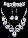 Pentru femei Altele Set bijuterii Σκουλαρίκια / Coliere / Tiare - Regulat Pentru Nuntă / Petrecere / Ocazie specială