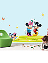 perete decalcomanii autocolante de perete, stil Mickey Mouse autocolante de perete din PVC