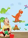väggdekorationer väggdekaler, dinosaurie pvc väggdekorationer