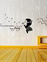 autocolante de perete decalcomanii de perete, cuvinte în limba engleză&citate autocolante de perete din PVC