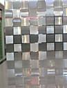 Geometrisk Klassisk Fönsterfilm, PVC/Vinyl Material fönster~~POS=TRUNC Matsalsrum Sovrum Vardagsrum Kök