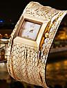 pentru Doamne Ceas Elegant Quartz Quartz Japonez Gravură scobită Metal Bandă Brățară rigidă Argint Auriu Roz auriuArgintiu Auriu Roz