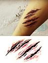 1 Tatouages Autocollants Autres Non Toxique Halloween Bas du Dos ImpermeableEnfant Homme Femme Adulte Adolescent Tatouage Temporaire