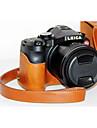 dengpin pu piele piele de ulei capac detașabil camera sac de caz pentru Leica V-Lux typ114 (culori asortate)