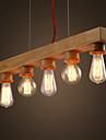 Moderne/Contemporain Rustique Island Light Pour Salle de sejour Chambre a coucher Salle a manger Bureau/Bureau de maison Chambre des