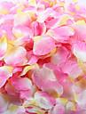 100 pcs petale de rose artificielle pour la decoration de fete de mariage rouge blanc jaune